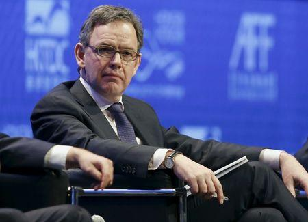 Maijoor attends a policy dialogue during the Asian Financial Forum in Hong Kong