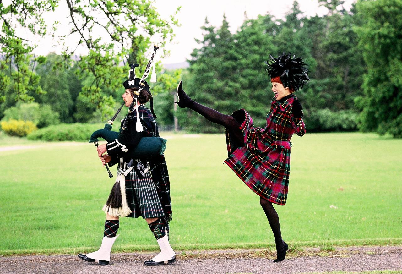 Shot by Arthur Elgort in Scotland.