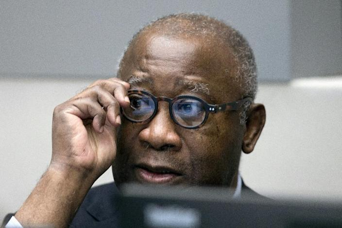 Former Ivory Coast president Laurent Gbagbo is on trial at the International Criminal Court in The Hague (AFP Photo/Peter Dejong)