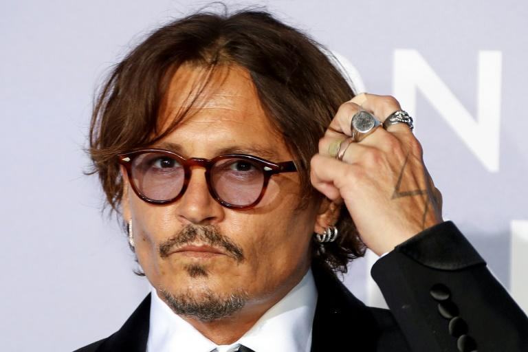 Hollywoodstar Johnny Depp