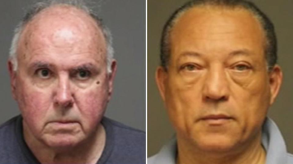 Charles L. Ardito (right) and Otto D. Williams (left). Police say the Connecticut woods had been advertised as a place for people to meet up and have sex.
