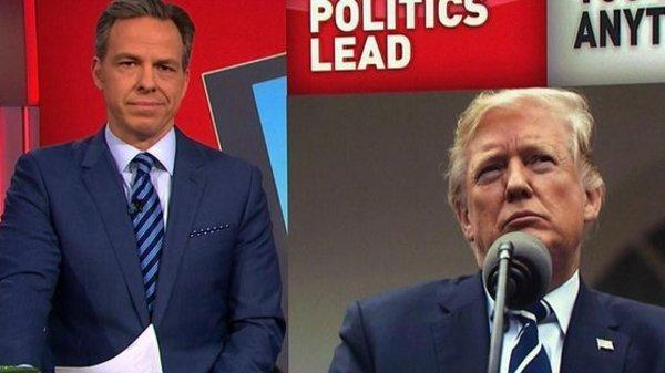 Jake Tapper Rips Trump: People In Glass White Houses Shouldn't Throw Stones