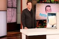 <p>Vince Vaughn makes a guest appearance on <em>The Ellen DeGeneres Show</em> on Thursday in Burbank, California, to chat about his new horror film <em>Freaky</em>.</p>