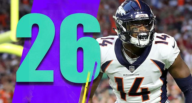 <p>Trading Demaryius Thomas means giving Courtland Sutton more playing time and snaps. Sutton is going to be really good. (Courtland Sutton) </p>