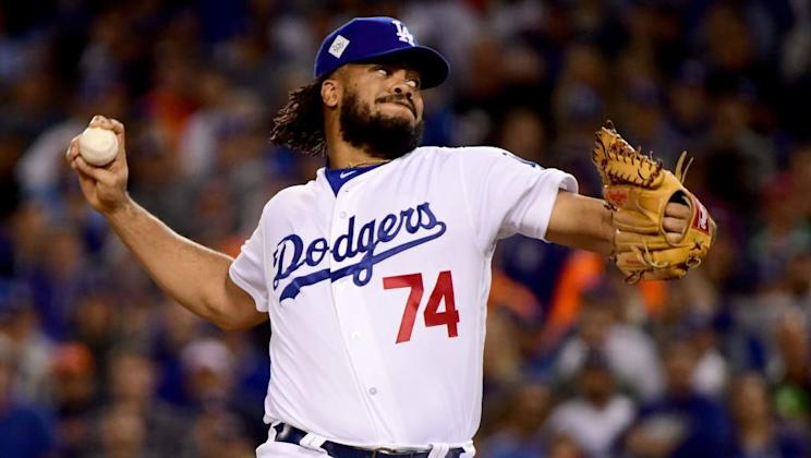 Dodgers closer Kenley Jansen suggests the players might need to go on strike. (AP)