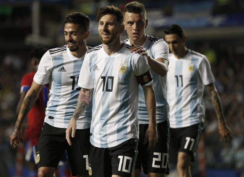 Height Effect Argentina Sizes Up Iceland At World Cup