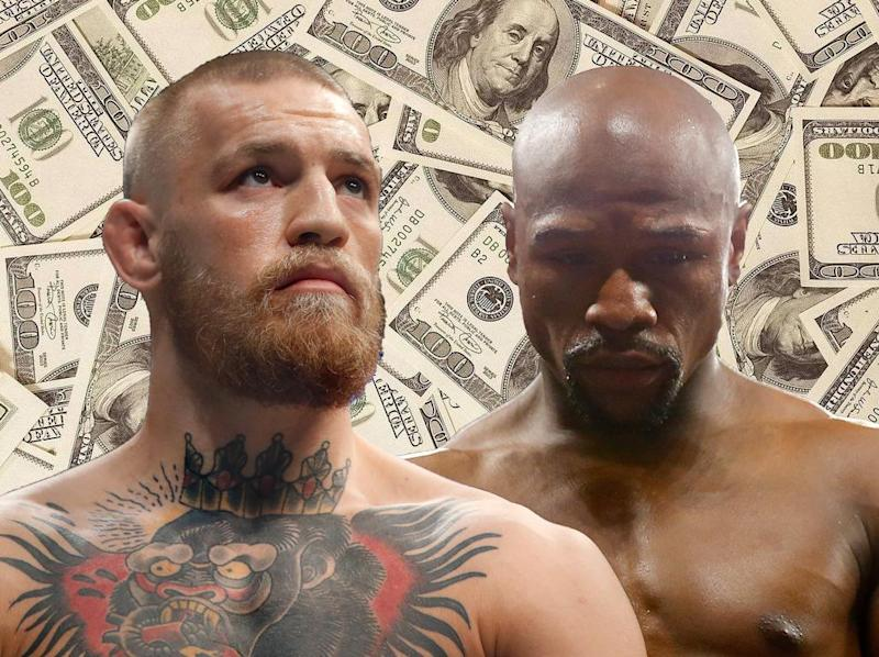 The fight is expected to become the most lucrative boxing match of all time (Independent)