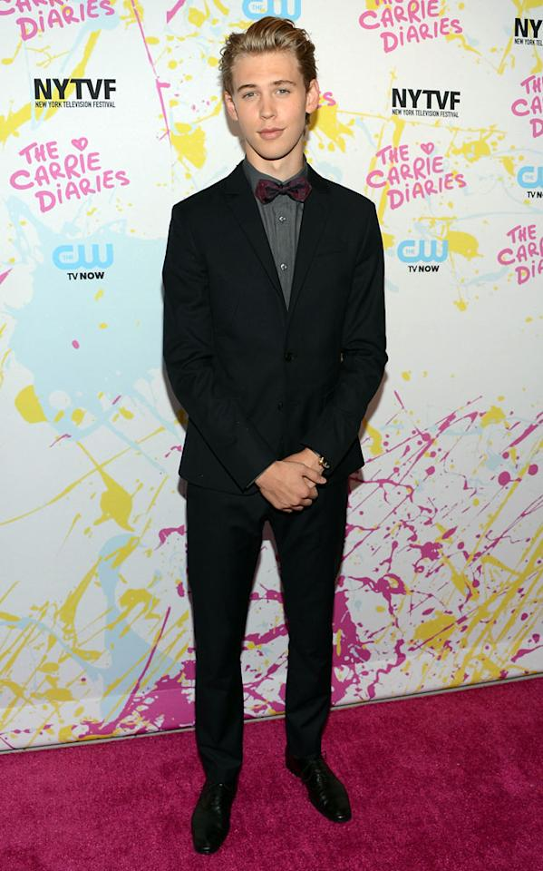 "Austin Butler attends ""The Carrie Diaries"" Premiere during the 2012 New York Television Film Festival at SVA Theater on October 22, 2012 in New York City."