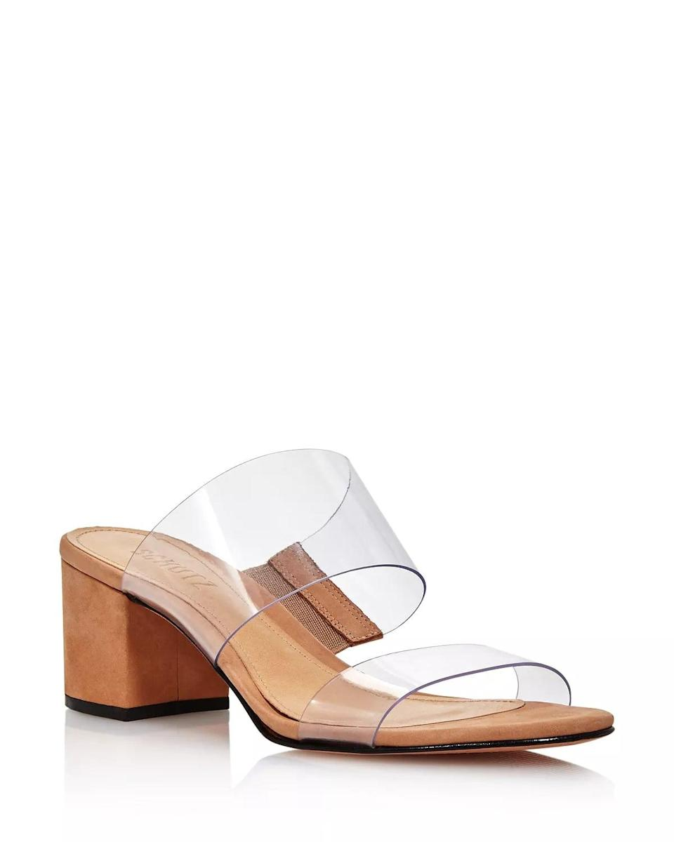 <p>These <span>Schutz Victorie Slide Sandals</span> ($118) have the perfect heel height that you can wear everywhere.</p>