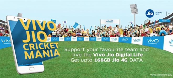 Vivo-Jio Cricket Mania