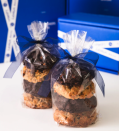 """<p><strong>Levain </strong></p><p>levainbakery.com</p><p><strong>$27.00</strong></p><p><a href=""""https://levainbakery.com/products/signature-cookie-assortment"""" rel=""""nofollow noopener"""" target=""""_blank"""" data-ylk=""""slk:Shop Now"""" class=""""link rapid-noclick-resp"""">Shop Now</a></p><p>Just in time for Mother's Day, this New York bakery famous for its giant, gooey cookies is shipping nationwide, including overnight deliveries. Select cookies based on her favorites, or opt for this signature assortment which will allow your mom or moms to try them all.</p>"""