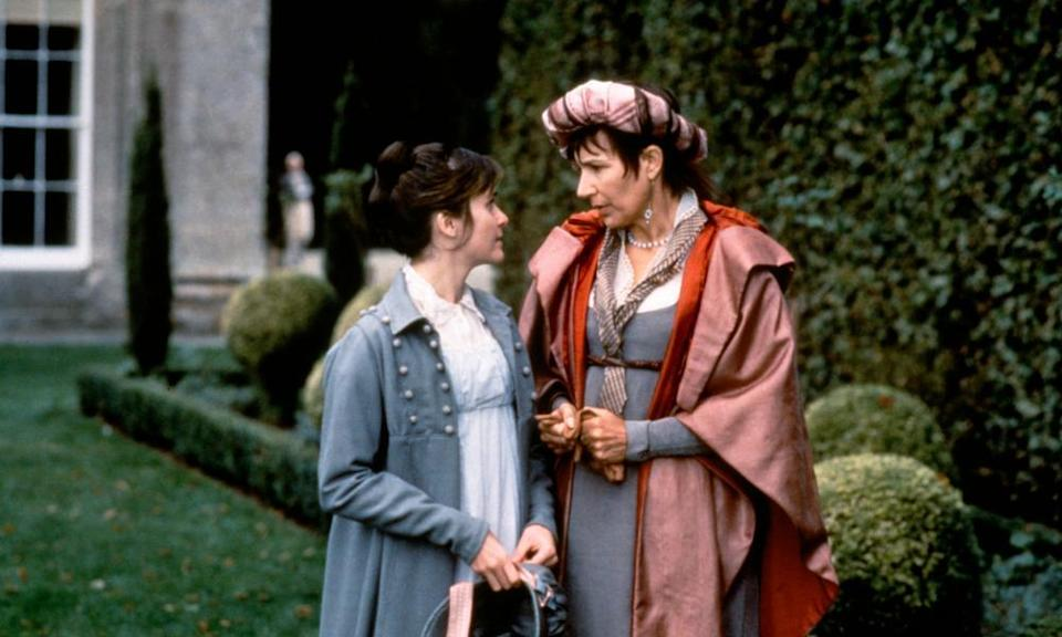 Amanda Root as Anne Elliot and Susan Fleetwood as Lady Russell in Roger Michell's 1995 BBC adaptation of Jane Austen's Persuasion.