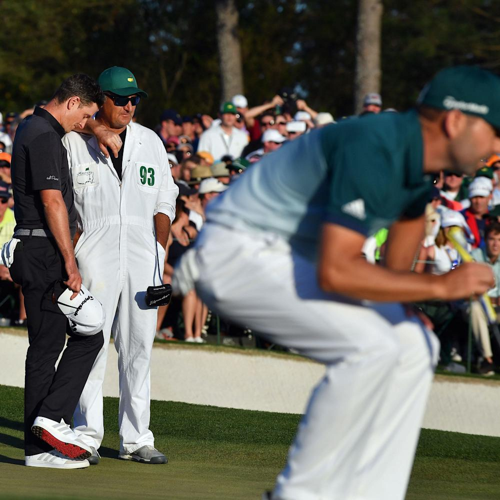 Justin Rose - Just Rose admits Masters defeat to Sergio Garcia will sting, but vows to return and conquer Augusta - Credit: REX FEATURES