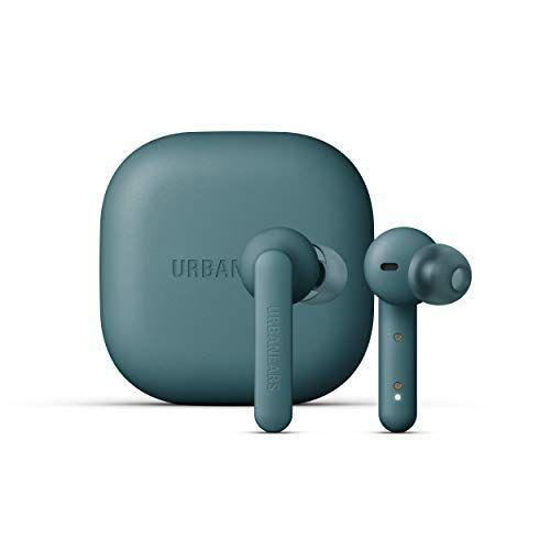 "<p><strong>Urbanears</strong></p><p>amazon.com</p><p><strong>$69.99</strong></p><p><a href=""https://www.amazon.com/dp/B08BVHYFDT?tag=syn-yahoo-20&ascsubtag=%5Bartid%7C2139.g.36190715%5Bsrc%7Cyahoo-us"" rel=""nofollow noopener"" target=""_blank"" data-ylk=""slk:BUY IT HERE"" class=""link rapid-noclick-resp"">BUY IT HERE</a></p><p>Urbanears is a household brand in audio technology, so with their Alby earbuds, you know you are getting something legit. Their take on AirPods feature a customized silicone tip fit, that comes in small, medium, and large. This means you can adjust each bud size to fit your ear. </p><p>The Alby earbuds take obvious design cues from Apple, appearing sleek, stylish and minimal. The slightly longer stems have more controls built-in, making tapping to talk, skip a song, or adjust volume accessible. </p><p>You get three hours of total playtime, with an additional 12 from their charging case. They have an IPX4 rating, which makes them splash resistant, protecting against rain and sweat. While the bass on these aren't anything to celebrate, the overall quality and frequency remains above average for a pair of budget headphones.</p>"
