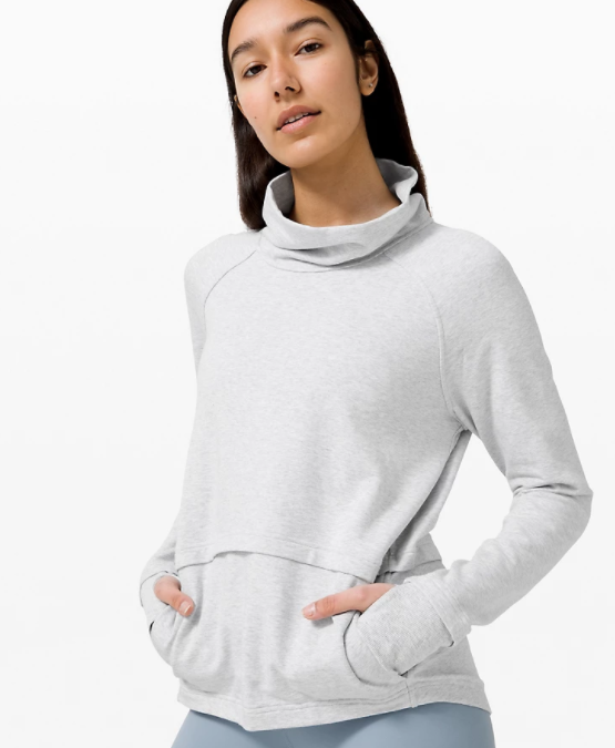 Find Your Unwind Pullover in heathered core grey
