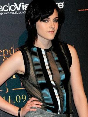 """Kristen Stewart better not order the flambe in that top. The material, rayon, triggered one of the largest recalls in history, in 1994, when the government alerted citizens to """"stop wearing rayon skirts."""" The highly flammable material was proven to burst into flames at the flick of a lit cigarette. Now most clothing derived from the synthetic material is sprayed with an anti-flammable chemical. But it's still not recommended for wearing around a campfire."""