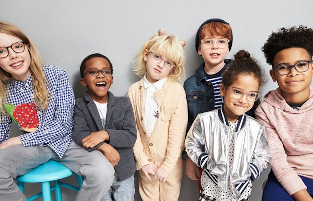 Warby Parker launches kids eyewear for the first time, available only in New York City. (Photo: Courtesy of Warby Parker)