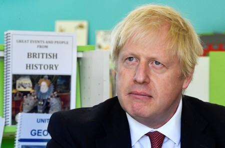 Britain's Prime Minister Boris Johnson visits Pimlico Primary