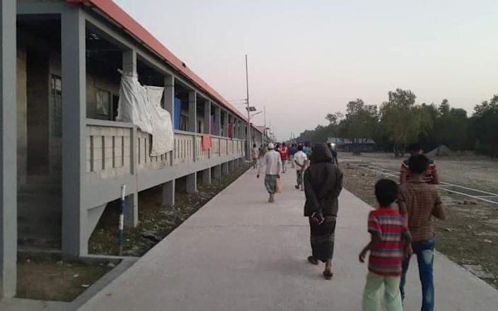 Accommodation on Bhasan Char is basic but better than the overcrowded onshore camps