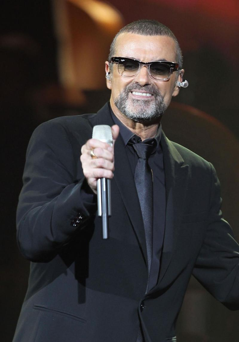The late George Michael (pictured here in 2011) helped a woman to have a miracle baby by donating $15,000. Source: Getty