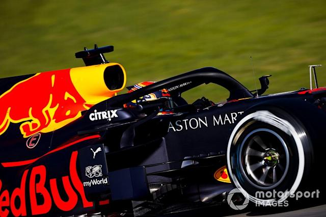 "13º Alex Albon, Red Bull Racing: 1:17.912 (con neumáticos C2) <span class=""copyright"">Andy Hone / Motorsport Images</span>"