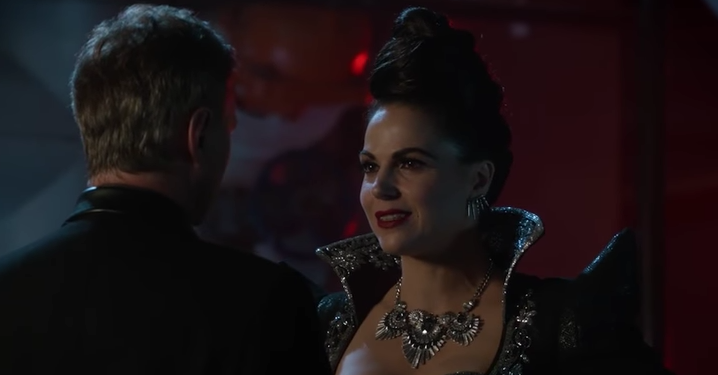 OUAT's Belle finally gave birth, but of course Rumple ruined it all