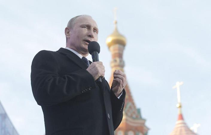 President Vladimir Putin, who enjoys unstinting support from the Russian Orthodox Church, has over the past years been promoting increasingly conservative values in a bid to rally support from his core constituents (AFP Photo/Maxim Shipenkov)