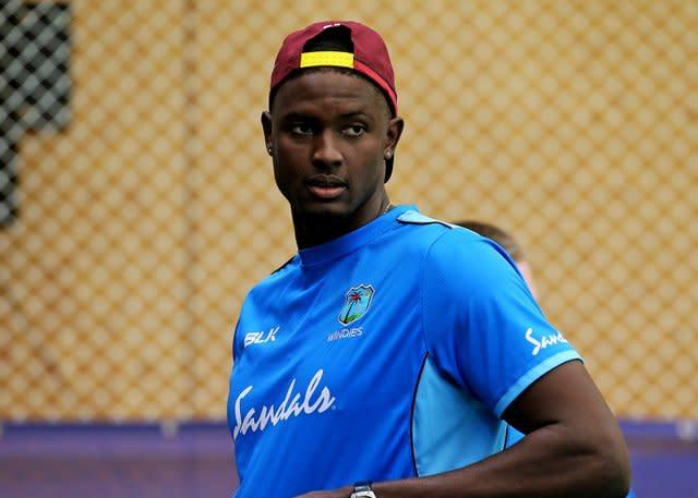 Jason Holder will discuss the issue with his West Indies team-mates (Mark Kerton/PA)