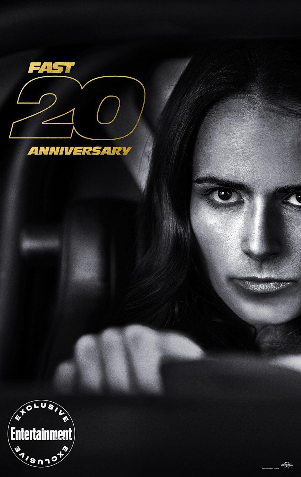 """<p>Twenty years in, original star <a href=""""https://ew.com/tag/jordana-brewster/"""" rel=""""nofollow noopener"""" target=""""_blank"""" data-ylk=""""slk:Jordana Brewster"""" class=""""link rapid-noclick-resp"""">Jordana Brewster</a> is still learning from Mia. """"I think in real life I'm sometimes so shy or a little bit soft-spoken, and when I watch I'm like, 'Mia is such a badass,'"""" <a href=""""https://ew.com/ew-binge-podcast/fast-saga-jordana-brewster-fast-five/"""" rel=""""nofollow noopener"""" target=""""_blank"""" data-ylk=""""slk:she recently said on EW's BINGE: The Fast Saga"""" class=""""link rapid-noclick-resp"""">she recently said on <em>EW's BINGE: The Fast Saga</em></a>. """"To see Mia and be like, 'Oh, she's such a good example for women out there,' and she's even a good example for me to just own it. I love that about her.""""</p>"""