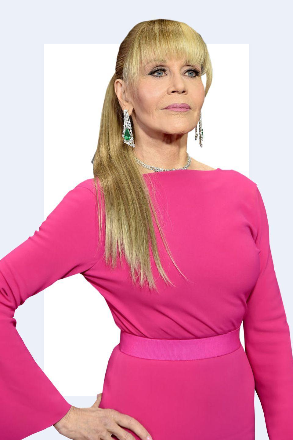 """<p>""""Jane Fonda wore this amazing Brandon Maxwell gown to the 2017 Emmys and it was a huge pop of color. Since seeing that on her I'm so into it, especially on older people. It's <strong>sophisticated and young</strong> but not immature or obnoxious."""" -<em><a rel=""""nofollow noopener"""" href=""""http://www.andrewgelwicks.com/"""" target=""""_blank"""" data-ylk=""""slk:Andrew Gelwicks"""" class=""""link rapid-noclick-resp"""">Andrew Gelwicks</a></em></p>"""