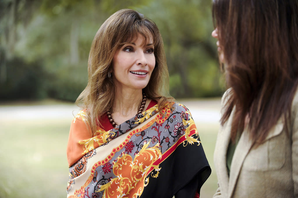 "Susan Lucci guest stars on ""Army Wives."""