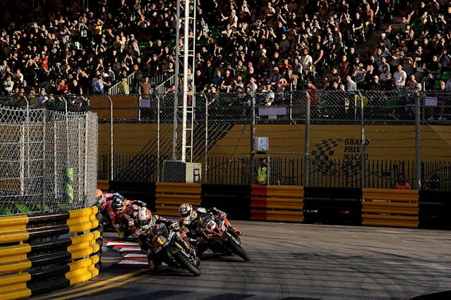 Rutter declared Macau winner on one lap of racing