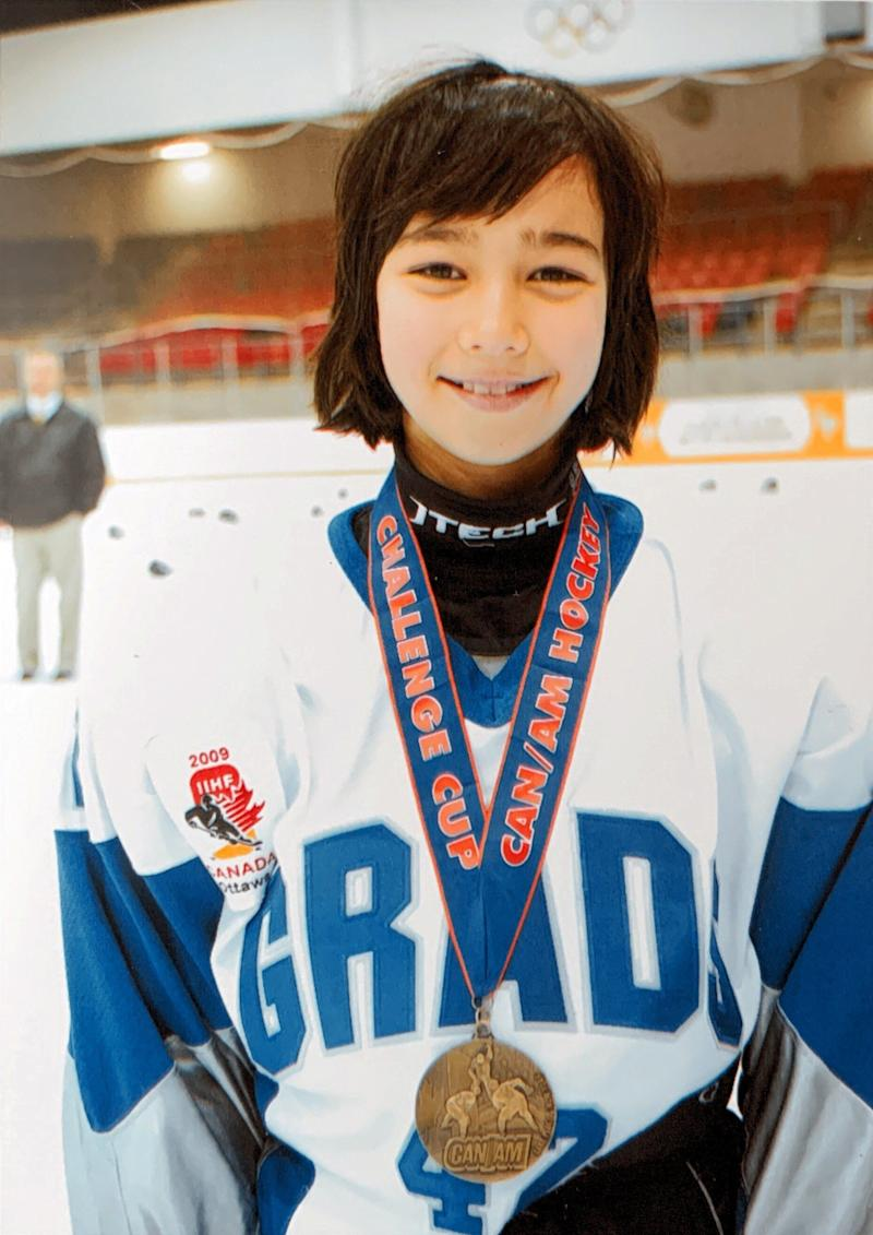 After winning gold at the 2008 CAN/AM Challenge Cup in Lake Placid, NY. (Photo: Tyler Griffin)