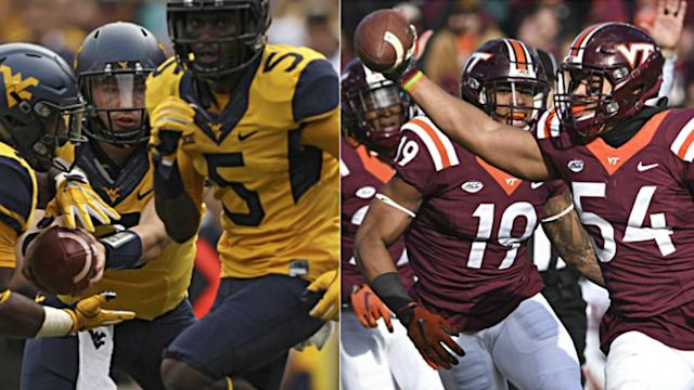 The nationally televised season opener between Virginia Tech and West Virginia at FedEx Field has been moved back a day, to Sept. 3.