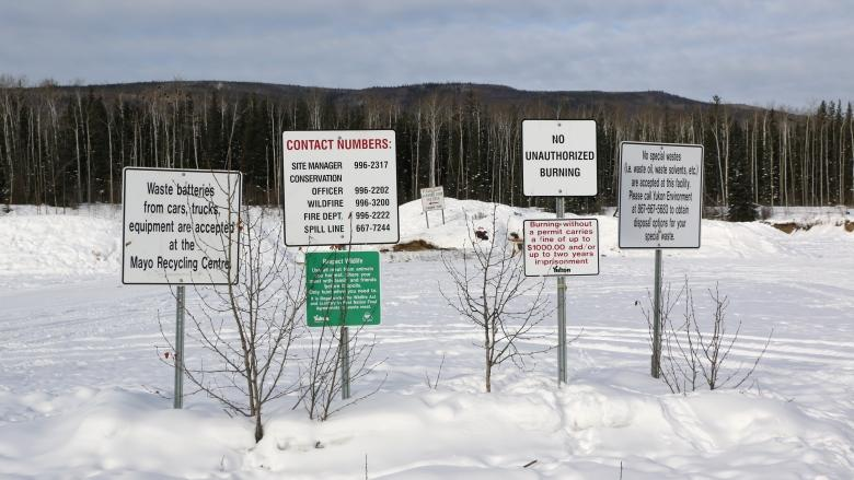 Too much trash: Yukon village fighting for government help to run its landfill
