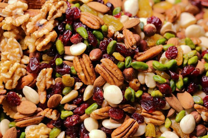 Photo of mixed nuts