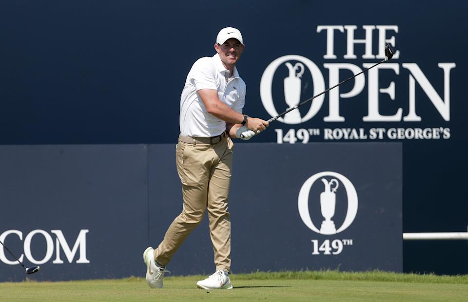 Rory McIlroy finished in a tie for 46th at The Open two weeks ago (David Davies/PA) (PA Wire)