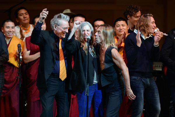 Iggy Pop, Patti Smith, New Order Storm Carnegie Hall for Tibet