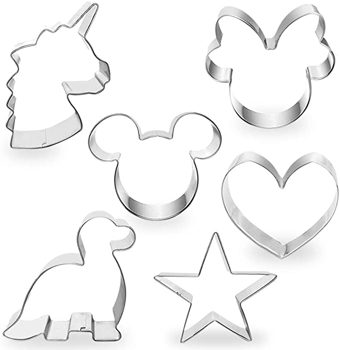 """<h3><a href=""""https://amzn.to/3cabSw5"""" rel=""""nofollow noopener"""" target=""""_blank"""" data-ylk=""""slk:Cotey Cookie Cutters (Set Of 6)"""" class=""""link rapid-noclick-resp"""">Cotey Cookie Cutters (Set Of 6)</a></h3><br><strong>Katie</strong><br><br><strong>How She Discovered It:</strong> """"A simple Amazon search!""""<br><br><strong>Why It's A Hidden Gem: </strong>""""I don't cook. I've never been domestic AT ALL. But I just read that the number one hobby people have taken up during the pandemic is cooking - and that's true of me too, at least baking! (My hips hate me.) I wanted to make something special with my daughter for her 3rd birthday - she loves Mickey, dinosaurs and unicorns - this set included ALL of those cookie cut outs, plus more!! And the price was right (a lot cheaper than other packs with fewer and less varied designs). We had a great time making and decorating cookies to take to her quarantine pod daycare on her birthday.""""<br><br><strong>Cotey</strong> Cookie Cutters, Set Of 6, $, available at <a href=""""https://amzn.to/3cabSw5"""" rel=""""nofollow noopener"""" target=""""_blank"""" data-ylk=""""slk:Amazon"""" class=""""link rapid-noclick-resp"""">Amazon</a>"""
