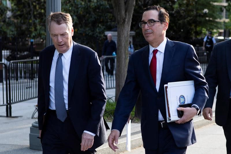 Steve Mnuchin sees progress on steel tariffs with Mexico and Canada