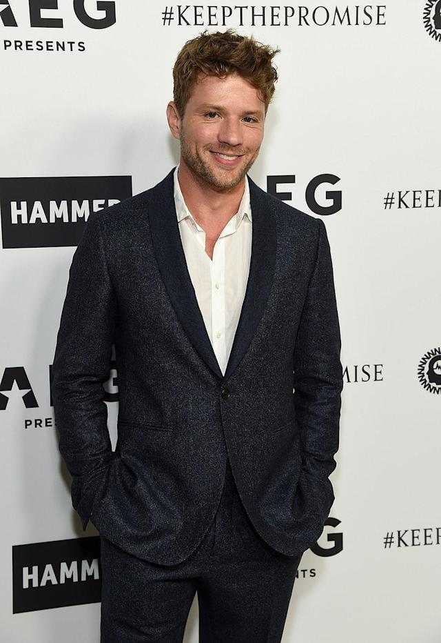 <p>Actor Ryan Phillippe became a dad at 23 (Photo by Michael Kovac/Getty Images) </p>