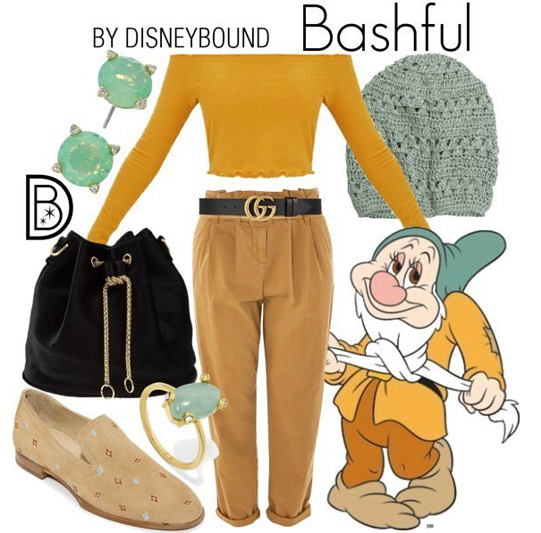 Leslie creates character-inspired looks that her readers can either use as inspiration or purchase via the social commerce site Polyvore. (@TheDisneyBound)