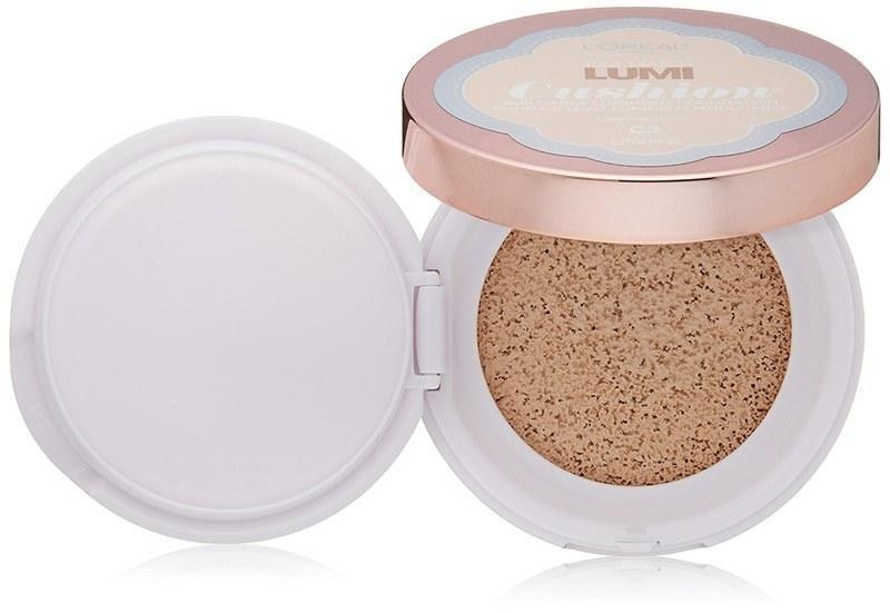 "When it comes to foundation, lightweight, buildable coverage is the way to go. L'Oreal True Match Lumi Cushion Foundation is meant to be applied with your fingers, so you won't over do it, and comes in more than 15 tones. (PS: Haven't been introduced to the wonderful world of cushion compacts yet? <a href=""http://www.glamour.com/story/how-to-use-cushion-compact-foundation?mbid=synd_yahoo_rss"" rel=""nofollow noopener"" target=""_blank"" data-ylk=""slk:Here's everything you need to know."" class=""link rapid-noclick-resp"">Here's everything you need to know.</a>) $14, L'Oreal Paris Cosmetics True Match Lumi Cushion Foundation. <a href=""https://shop-links.co/1674787886437804611"" rel=""nofollow noopener"" target=""_blank"" data-ylk=""slk:Get it now!"" class=""link rapid-noclick-resp"">Get it now!</a>"