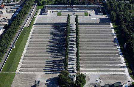 FILE PHOTO: General view at the former German Nazi concentration camp in Dachau near Munich, Germany August 24, 2016. REUTERS/Michaela Rehle