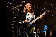 <p>Phoebe Bridgers performs onstage at the Pitchfork Music Festival in Chicago on Sept. 10.</p>