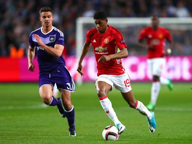 Rashford put in an impressive 75 minutes (Getty)