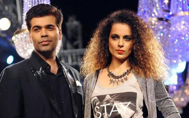Karan Johar: I am done with Kangana Ranaut playing the woman and victim card