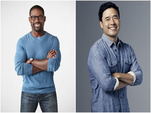 Sterling K. Brown and Randall Park (Image source: Instagram)