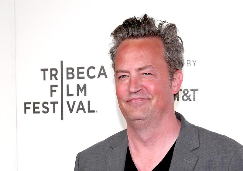 "NEW YORK, NY - APRIL 26: Actor Matthew Perry attends 2017 Tribeca Film Festival - ""The Circle"" the at BMCC Tribeca PAC on April 26, 2017 in New York City. (Photo by Paul Zimmerman/WireImage)"