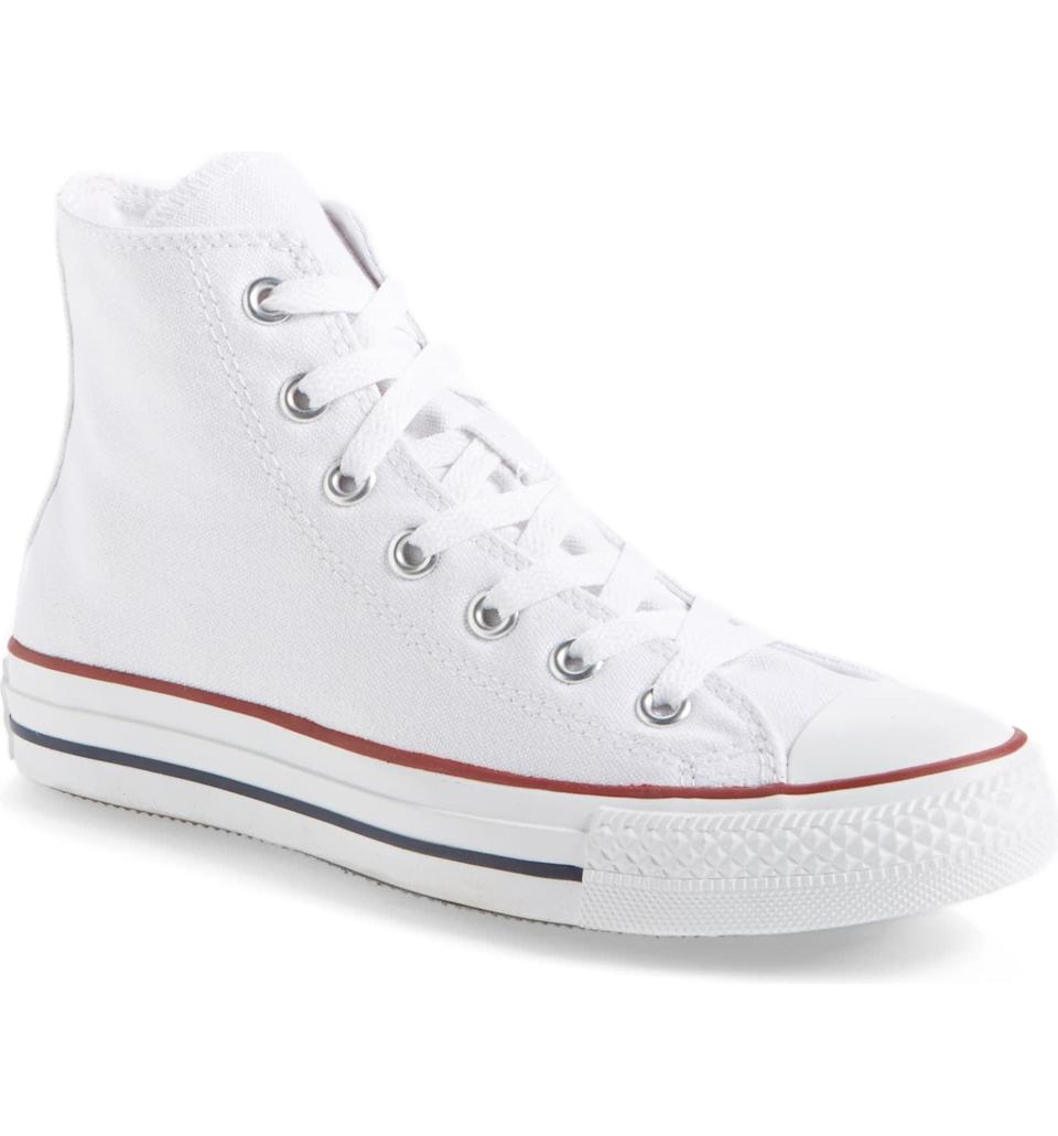 <p>If you love the look of a high-top sneaker, you need these <span>Converse Chuck Taylor High Top All-Star</span> ($55) sneakers in your life. They're always a good idea.</p>